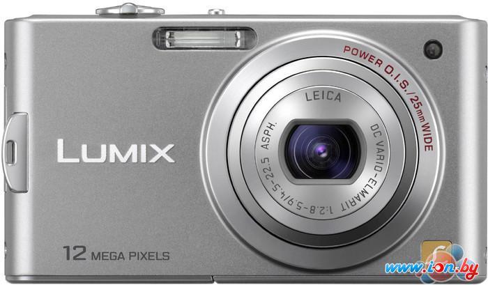 Фотоаппарат Panasonic Lumix DMC-FX60EE-S (серебристый) в Могилёве