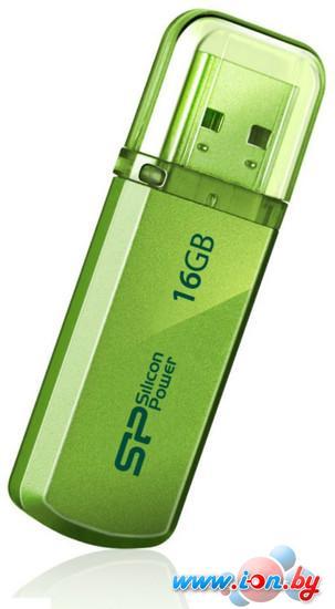 USB Flash Silicon-Power Helios 101 16GB зеленый [SP016GBUF2101V1N] в Могилёве