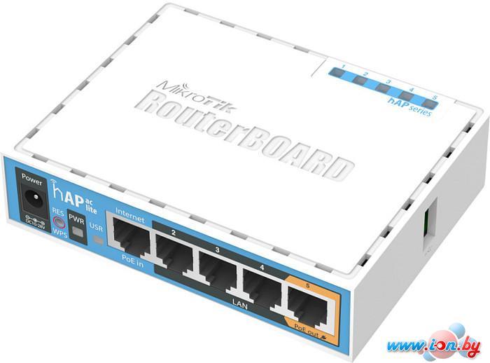 Беспроводной маршрутизатор Mikrotik hAP ac lite [RB952Ui-5ac2nD] в Могилёве
