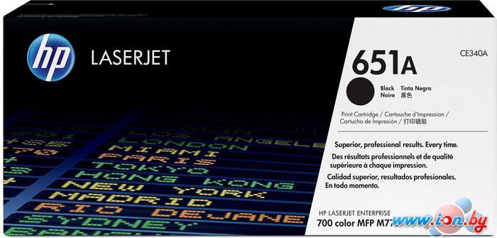 Картридж для принтера HP LaserJet 651A (CE340A) в Могилёве
