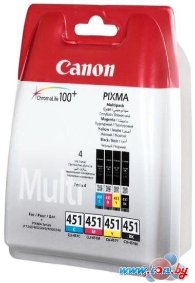 Картридж для принтера Canon CLI-451 Multipack C/M/Y/BK [6524B004] в Могилёве