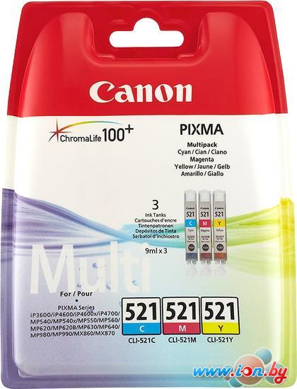 Картридж для принтера Canon CLI-521 C/M/Y Multipack в Могилёве