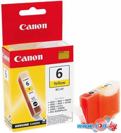 Картридж для принтера Canon BCI-6 Yellow в Могилёве