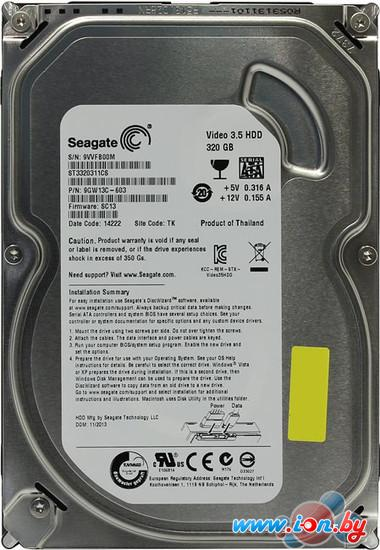 Жесткий диск Seagate Video 3.5 320GB [ST3320311CS] в Могилёве