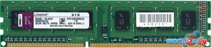 Оперативная память Kingston 4GB DDR3 PC3-12800 (KVR16N11S8/4BK) в Могилёве