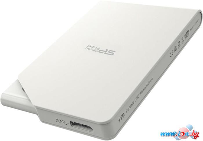 Внешний жесткий диск Silicon-Power Stream S03 1TB White (SP010TBPHDS03S3W) в Могилёве