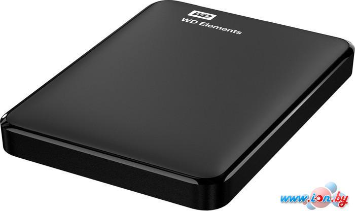 Внешний жесткий диск WD Elements Portable 1TB (WDBUZG0010BBK) в Могилёве
