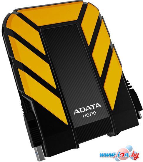 Внешний жесткий диск A-Data DashDrive Durable HD710 500GB Yellow (AHD710-500GU3-CYL) в Могилёве