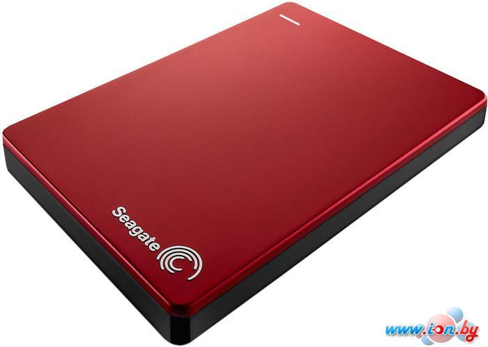 Внешний жесткий диск Seagate Backup Plus Portable Red 1TB (STDR1000203) в Могилёве