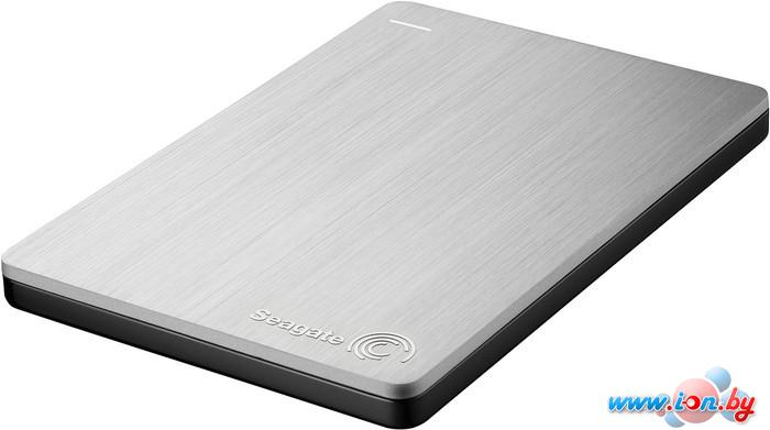 Внешний жесткий диск Seagate Backup Plus Slim Silver 2TB (STDR2000201) в Могилёве