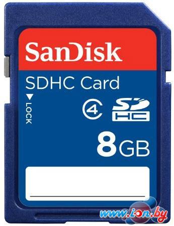 Карта памяти SanDisk SDHC (Class 4) 8GB (SDSDB-008G-B35) в Могилёве