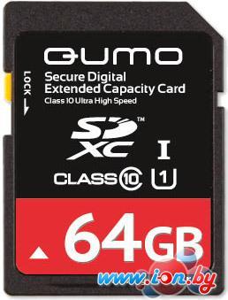Карта памяти QUMO SDXC (Class 10) 64GB (QM64GSDXC10) в Могилёве