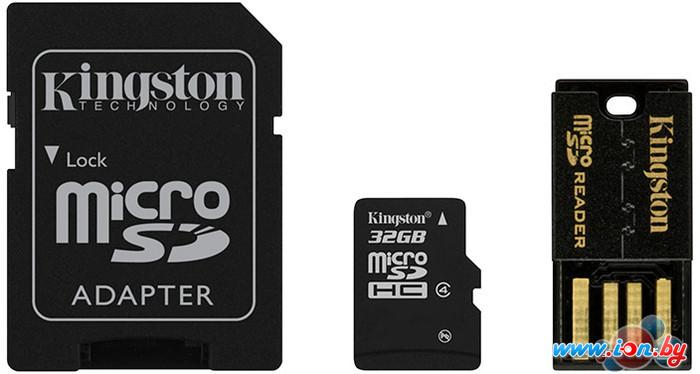 Карта памяти Kingston microSDHC (class 4) 32 Gb (MBLY4G2/32GB) в Могилёве