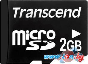 Карта памяти Transcend microSDHC 2 Гб (TS2GUSDC) в Могилёве