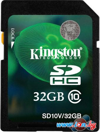 Карта памяти Kingston SDHC (Class 10) 32GB (SD10V/32GB) в Могилёве