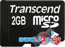 Карта памяти Transcend microSD 2 Гб (TS2GUSD) в Могилёве