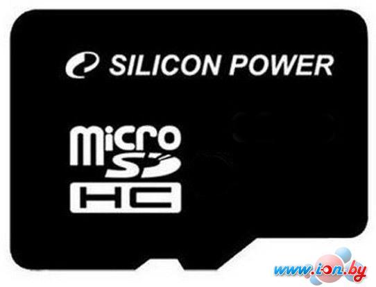 Карта памяти Silicon-Power microSDHC (Class 10) 8 Гб (SP008GBSTH010V10) в Могилёве