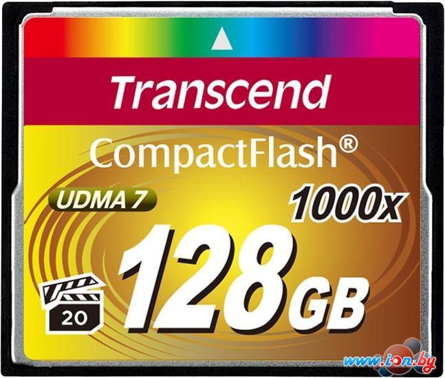 Карта памяти Transcend 1000x CompactFlash Ultimate 128GB (TS128GCF1000) в Могилёве