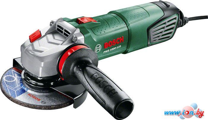 Угловая шлифмашина Bosch PWS 1000-125 (06033A2620) в Могилёве