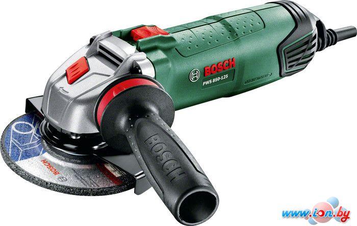 Угловая шлифмашина Bosch PWS 850-125 (06033A2720) в Могилёве