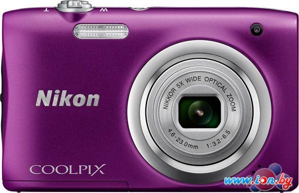 Фотоаппарат Nikon Coolpix A100 (фиолетовый) в Могилёве
