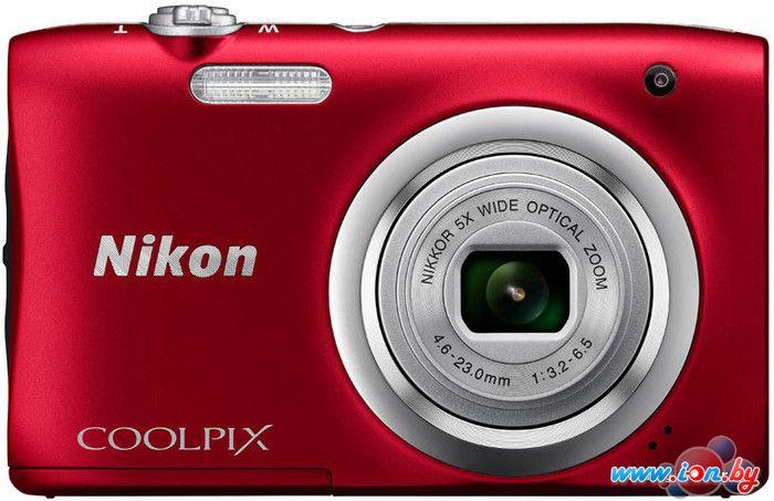Фотоаппарат Nikon Coolpix A100 (красный) в Могилёве