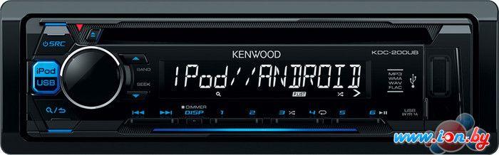 CD/MP3-магнитола Kenwood KDC-200UB в Могилёве