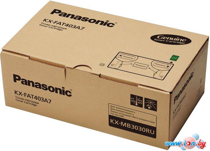 Картридж для принтера Panasonic KX-FAT403A7 в Могилёве