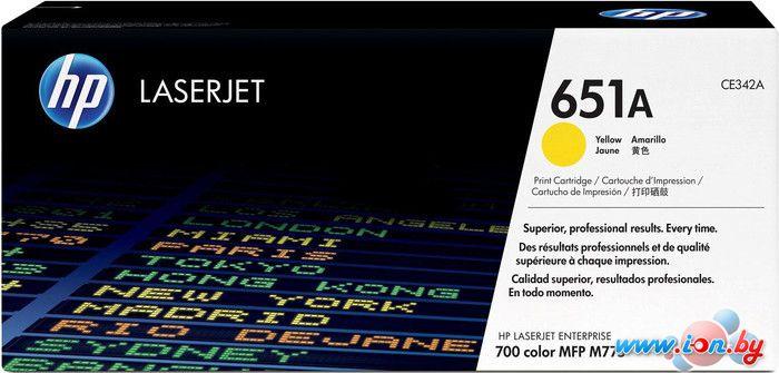 Картридж для принтера HP LaserJet 651A (CE342A) в Могилёве