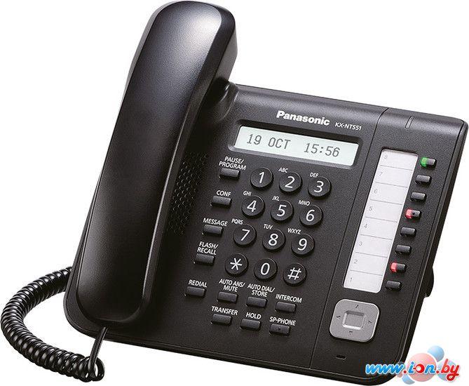 Проводной телефон Panasonic KX-NT551 Black в Могилёве