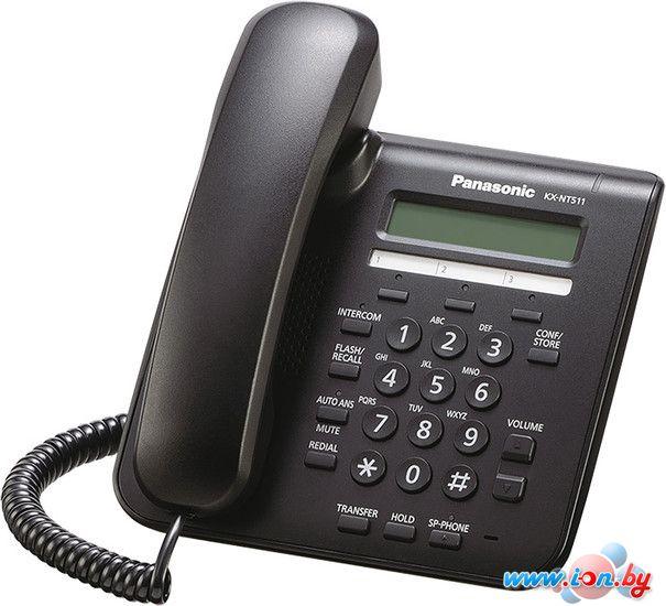 Проводной телефон Panasonic KX-NT511A Black в Могилёве