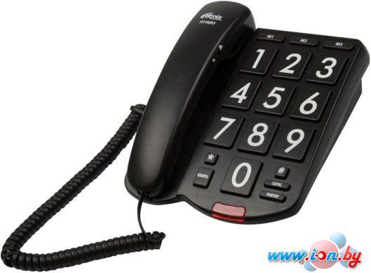 Проводной телефон Ritmix RT-520 (черный) в Могилёве