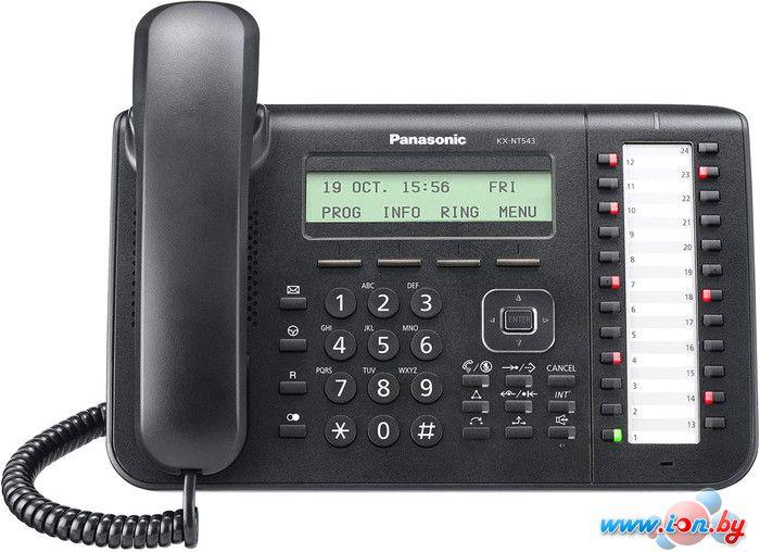 Проводной телефон Panasonic KX-NT543RU-B в Могилёве