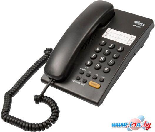 Проводной телефон Ritmix RT-330 (черный) в Могилёве