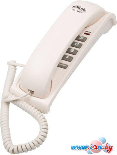 Проводной телефон Ritmix RT-007 (белый) в Могилёве