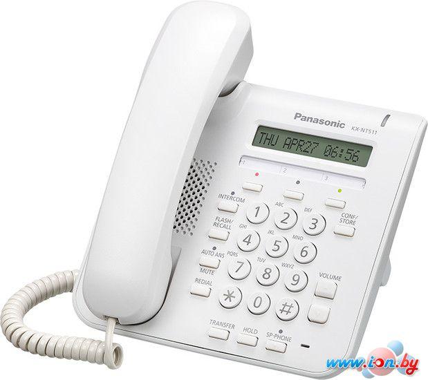 Проводной телефон Panasonic KX-NT511A White в Могилёве