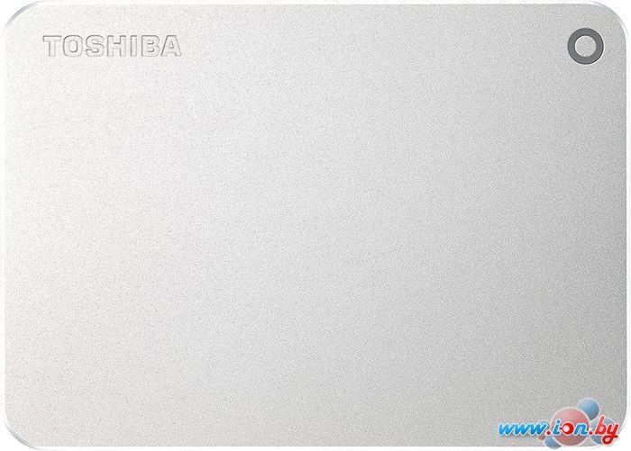 Внешний жесткий диск Toshiba Canvio Premium 1TB Silver Metallic [HDTW110EC3AA] в Могилёве