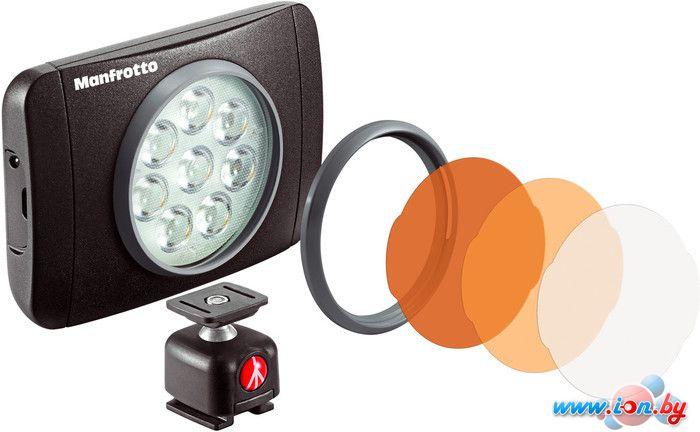 Лампа Manfrotto LUMIE SERIES MUSE LED LIGHT & ACCESSORIES (MLUMIEMU-BK) в Могилёве