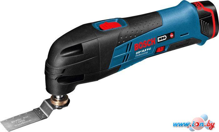 Мультифункциональная шлифмашина Bosch GOP 10.8 V-LI Professional (060185800J) в Могилёве