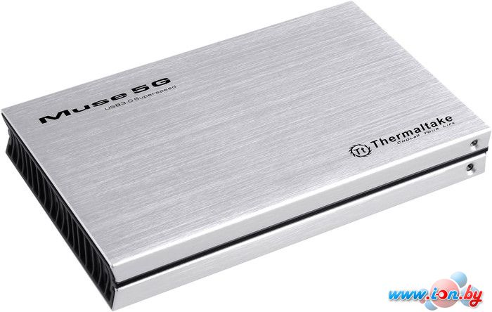 Бокс для жесткого диска Thermaltake Muse 5G 2.5 Silver (ST0041Z) в Могилёве