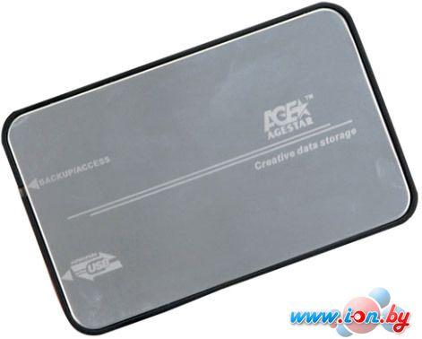 Бокс для жесткого диска AgeStar 3UB2A8-6G Silver в Могилёве