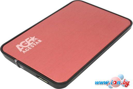 Бокс для жесткого диска AgeStar 3UB2A8 Red в Могилёве