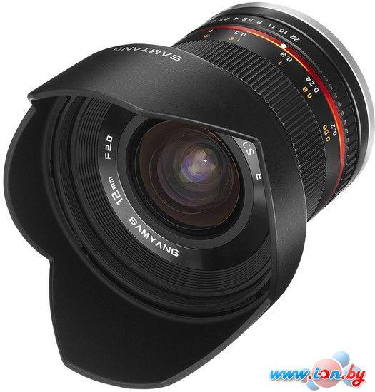 Объектив Samyang 12mm f/2 ED AS NCS CS для Fujifilm X в Могилёве