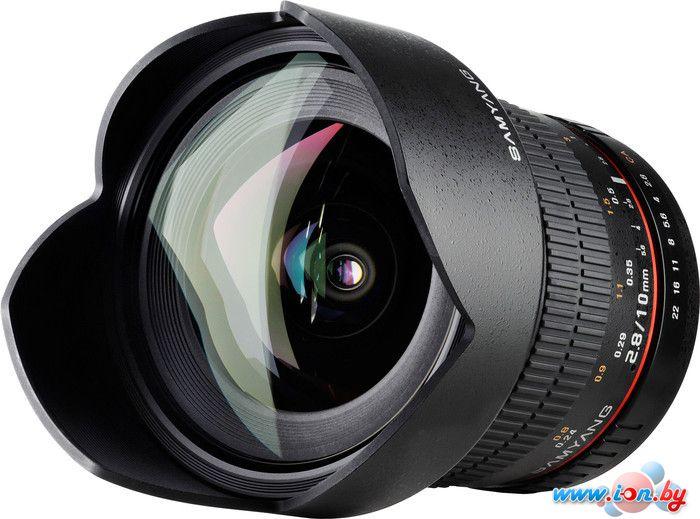 Объектив Samyang 10mm f/2.8 ED AS NCS CS AE для Nikon F в Могилёве