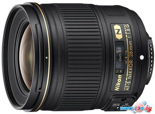 Объектив Nikon AF-S NIKKOR 28mm f/1.8G в Могилёве