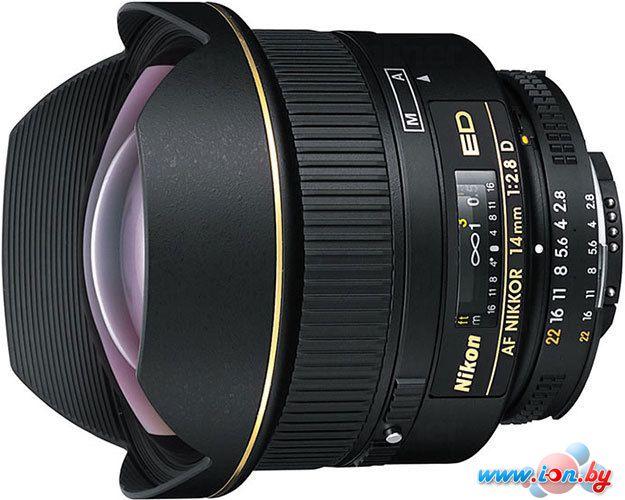 Объектив Nikon AF Nikkor 14mm f/2.8D ED в Могилёве