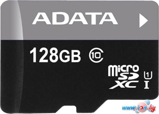 Карта памяти A-Data Premier microSDXC UHS-I Class 10 128GB [AUSDX128GUICL10-R] в Могилёве