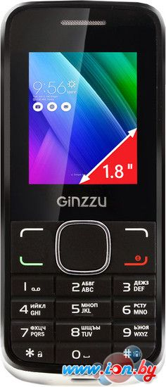Мобильный телефон Ginzzu M101 Dual mini White в Могилёве