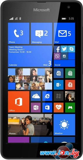 Смартфон Microsoft Lumia 535 Black в Могилёве