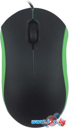 Мышь Ritmix ROM-111 (черный/зеленый) в Могилёве